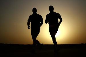 večerní běh