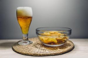 pivo brambůrky