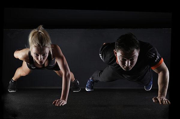 Při společném tréninku se vzájemně motivujte.