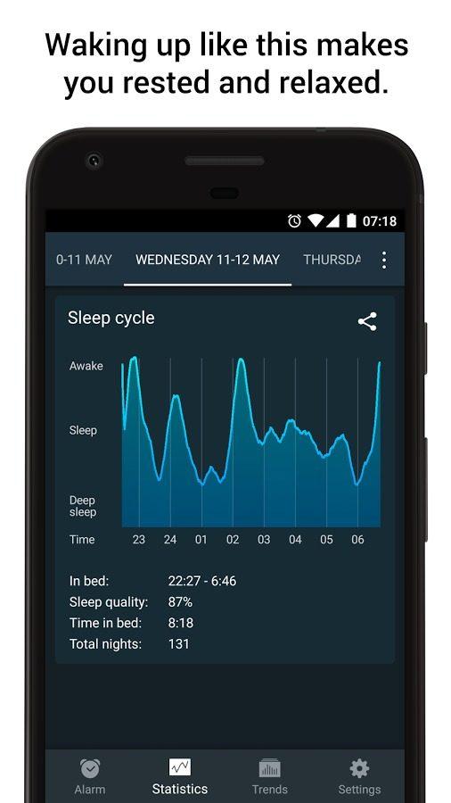 S aplikací SleepCycle se vám bude vstávat jedna báseň.