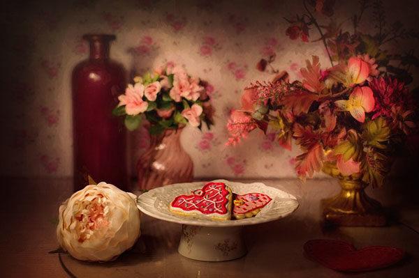 Valentýnské sušenky si zkrátka zamilujete.