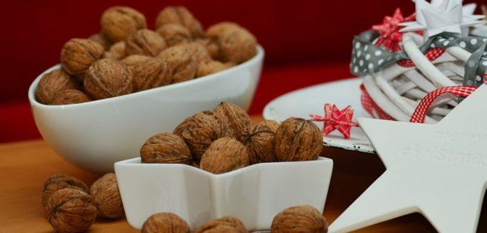 ořechy Vánoce