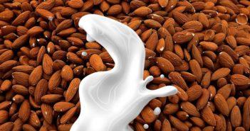 Mandlové mléko je zdravé a dobré