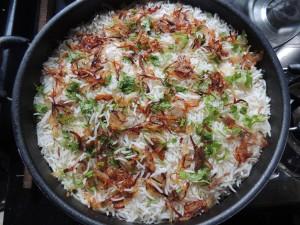 rýže indické jídlo