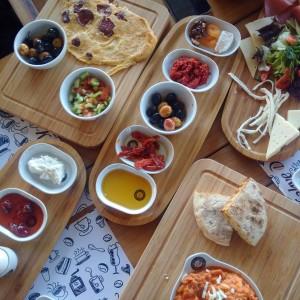 olivové misky