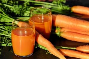 mrkvová šťáva