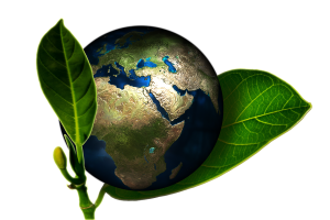 zelená modrá planeta